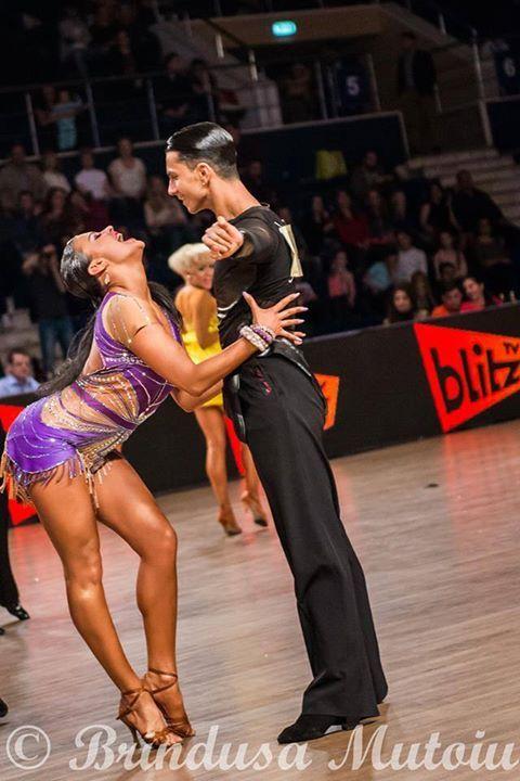 Alexandra Koldan & Stefano Mendolia :)  #RossoLatino #Testimonial #danceshoes #passion