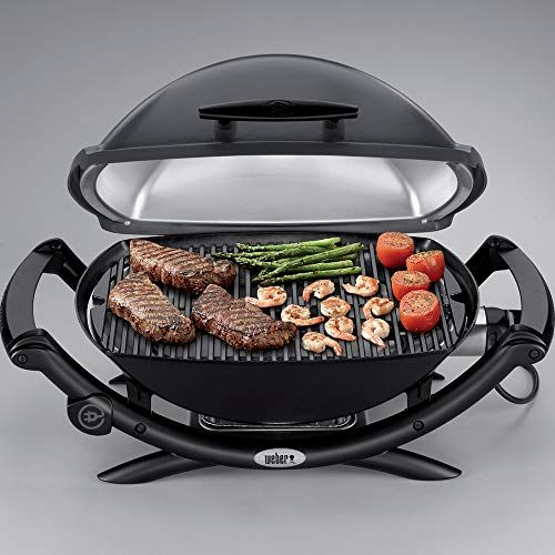 Weber Q 2400 Electric Grill Reviews Cooking Gadgets Best Outdoor Grills Electric Grill