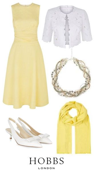 Yellow Coloured Mother Of The Bride Outfits and Dresses 2015   Yellow Coloured Wedding Outfits