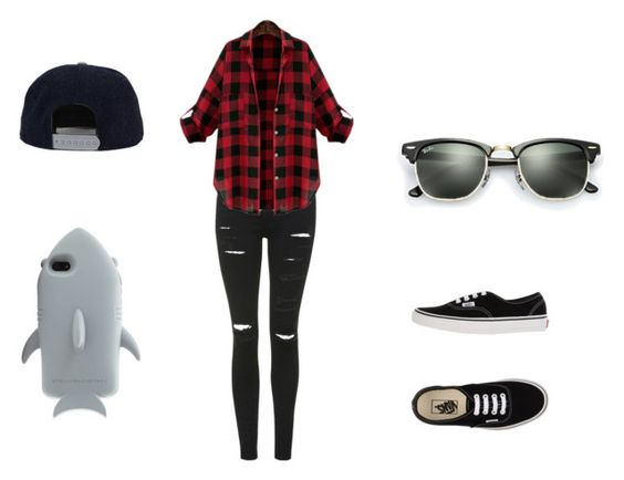 """Sin título #33"" by luzii-715 ❤ liked on Polyvore featuring Topshop, Vans, STELLA McCARTNEY and Ray-Ban"