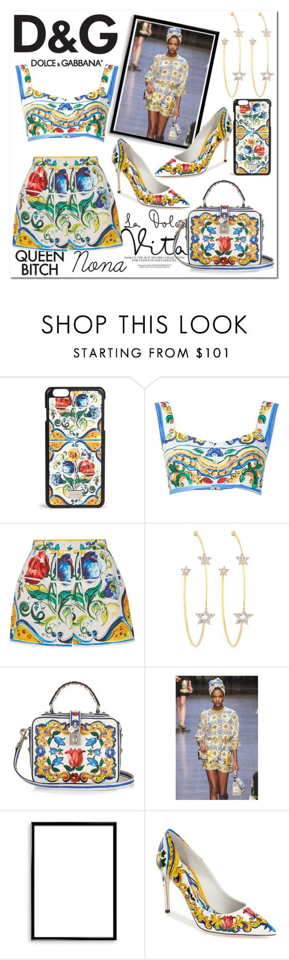 """D&G"" by delunaray ❤ liked on Polyvore featuring Dolce&Gabbana, PERLOTA, Bomedo and polyvoreeditorial"