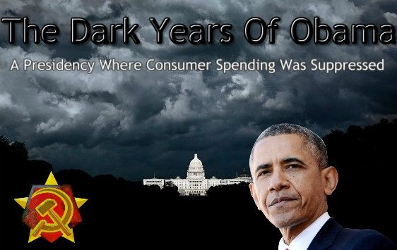 ARTICLE @  http://teapartymainstreet.blogspot.com/ Suppressed Consumer Spending In The Dark Years Of Barack Obama