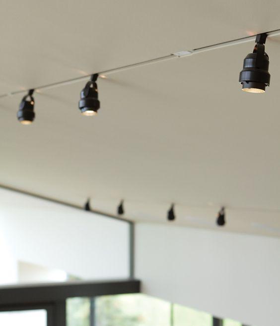 Sloped Ceiling Lighting Ideas Track Lighting: Pinterest • The World's Catalog Of Ideas