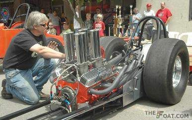 1963 California Chassis Engineering Front engine dragster U.S. Mule