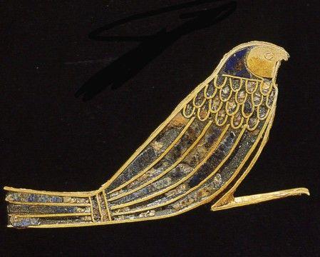 Amulette du prince Hornakht, fils d'Osorkon II. XXIIe dynastie. Nécropole royale de Tanis.
