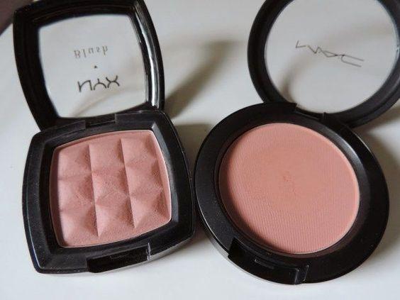 MAC Powder Blush Drugstore Dupe   Makeup Tutorials http://makeuptutorials.com/mac-drugstore-makeup-dupes