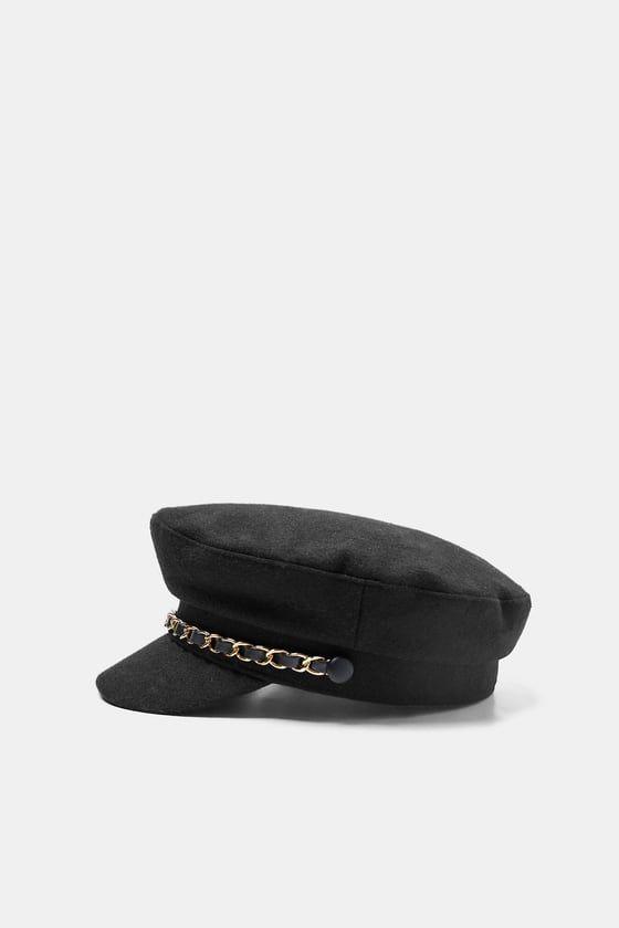 GORRA MARINERA CUADROS | Sombreros y gorras