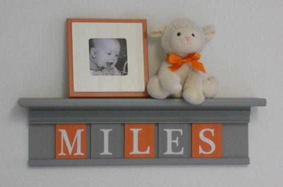 decorative wooden letters for shelves 2
