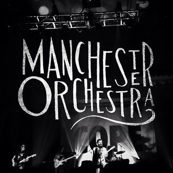Manchester Orchestra hand lettering by Joshua Noom