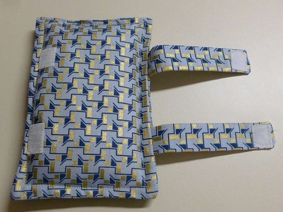 Port Softies Seatbelt Pads for Chemotherapy Patients Blue