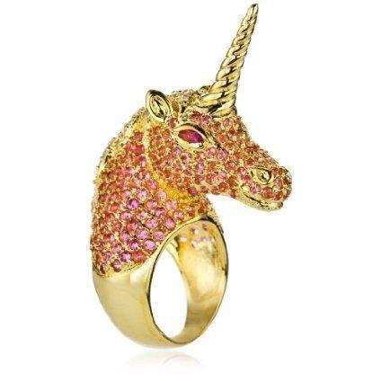 pink unicorn ring <3