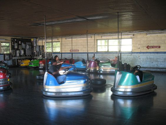Bumper Cars at Hoffman's Playland | Flickr - Photo Sharing!