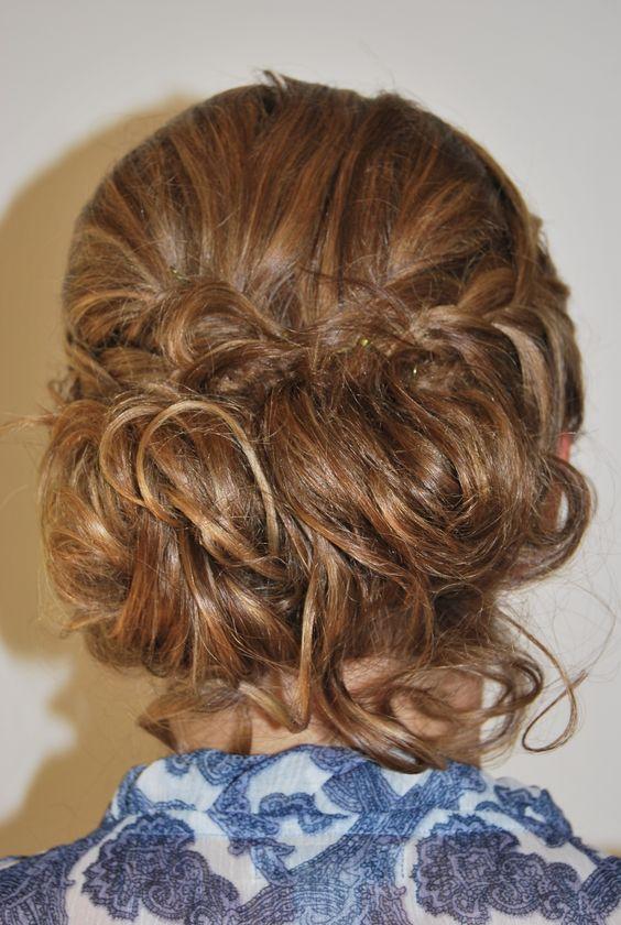 Recogido para boda peluquer a gregorio porras en calle el - Ideas para porras ...