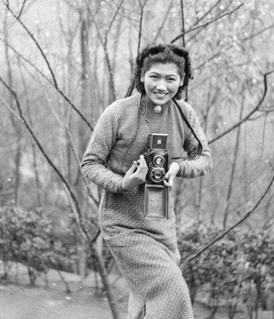 FU Bingchang China 1930s 1940 portraits snapshots
