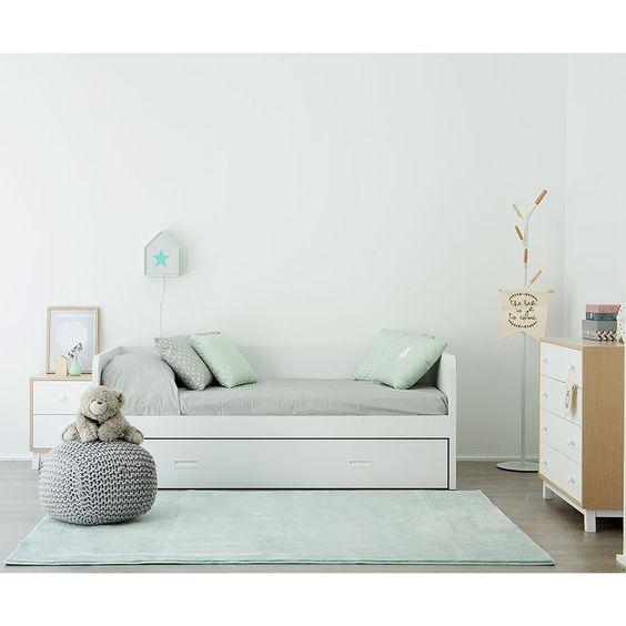 Play cama nido casa for Cama nido doble con ruedas