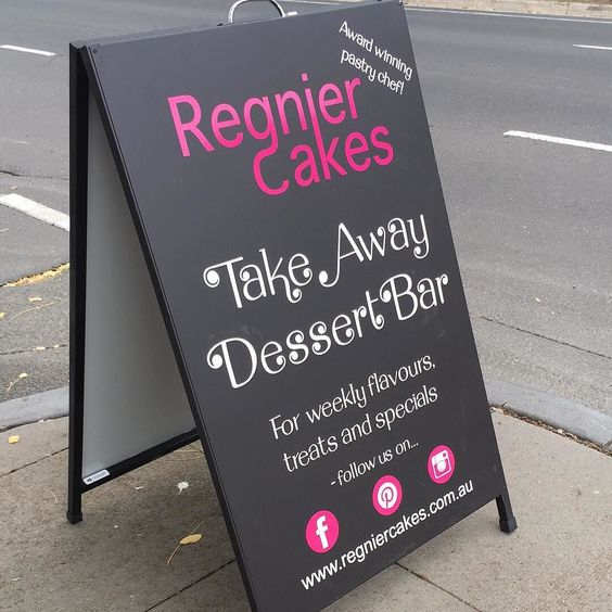 Fully stocked and opened until 1pm today. Trading every Friday/Saturday 9am-1pm #regniercakes #dessert #dessertbar #shoplocal #shopaustralian