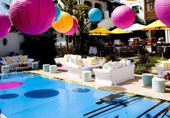 Festa na Piscina (Pool Party), quer saber tudo sobe como produzir uma festa com este tema? Amy separou dicas incríveis e importantes para a festa perfeita!: