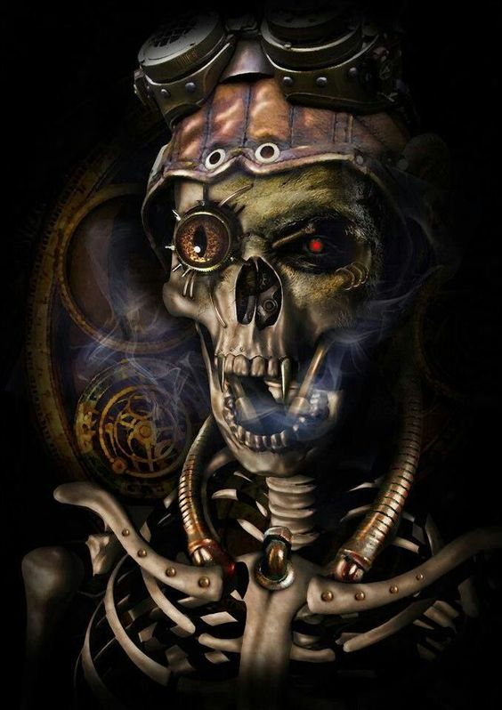 Steampunk | Skull Art | Pinterest | Illusions, Skulls and ...