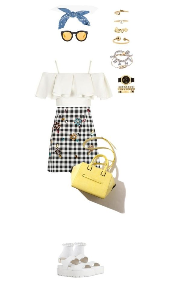 """""""959"""" by julialeskiv ❤ liked on Polyvore featuring Topshop, Dolce&Gabbana, Yves Saint Laurent, Marc by Marc Jacobs and Charlotte Russe"""