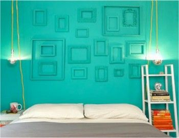 painted-wall-and-frames