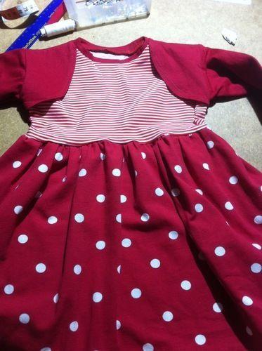 Makerist - Mustermix Kleid       Gr 92   für meine kleine Enkeltochter - Nähprojekte - 1