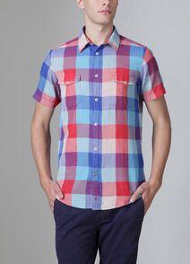 Ben Sherman Shoreditch Double Layer Large Check Shirt (@Adam Lathram or @Justin Krasner)