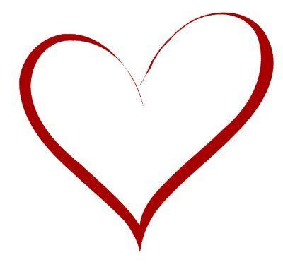 heart stencils printables printable hearts shapes heart templates ...