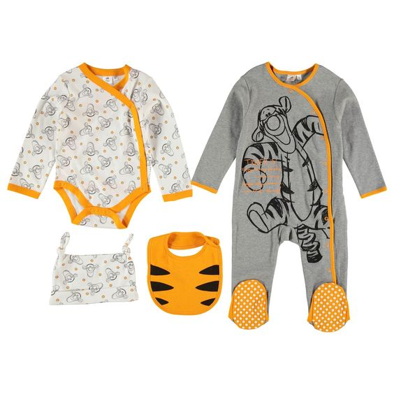 Character | Character 4 Piece Baby Set | Baby Sets