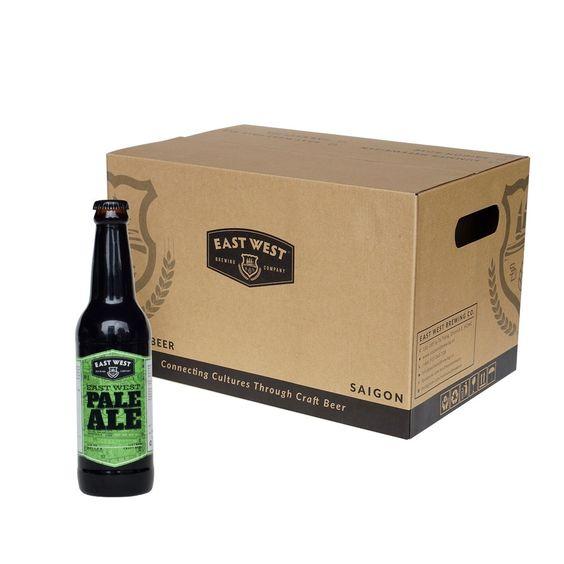 Bia East West Pale Ale 6% - Chai 330ml