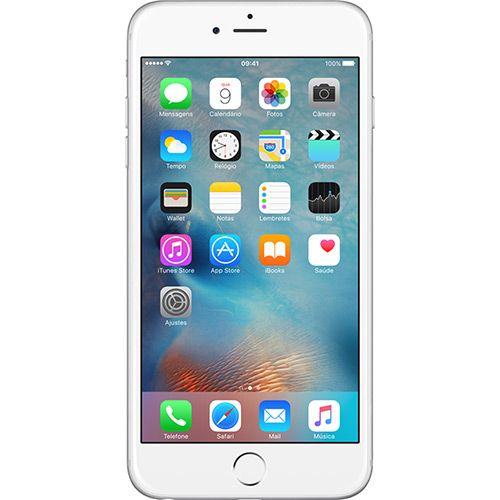 (Shoptime) iPhone 6 Plus 64GB Prata Tela 5.5 ´ iOS 8 4G Câmera 8MP - Apple - de R$ 3999 por R$ 3343.12 (17% de desconto)