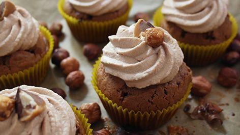 """Die Toffifee Cupcakes """"Toffeecup Sünde"""" mit herrlich schokoladigen Geschmack und…"""