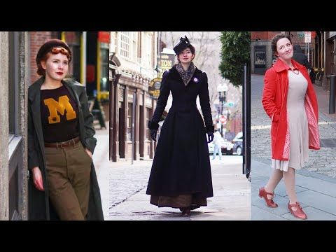 Why Are You Dressed Like That Embracing Bygone Styles With Rachel Maksy And Morgan Donner Youtube In 2020 Retro Fashion Vintage Fashion Dresses
