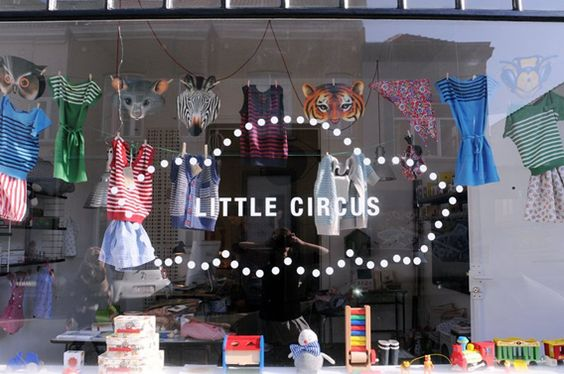 little circus. design by rosemarie auberson.