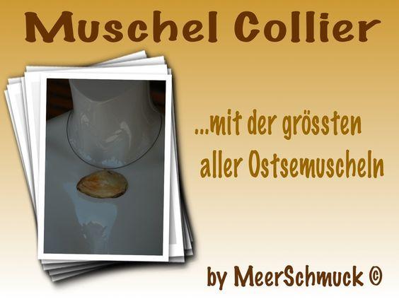 Muschel Collier von MeerSchmuck auf DaWanda.com