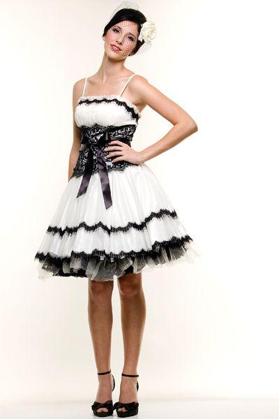 lacy black party dress