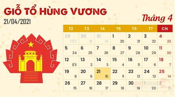 Giỗ tổ Hùng Vương 2021 người lao động được nghỉ mấy ngày? - 2