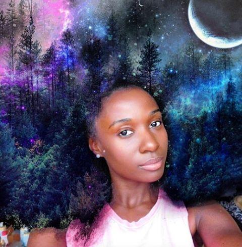 Black Girl Magic: Universos de cabellos voluminosos y herencia africana en el trabajo del artista Pierre Jean-Louis ✨ el artículo completo en www.vistelacalle.com @pierre_artista #blackgirlmagic #vistelacalle