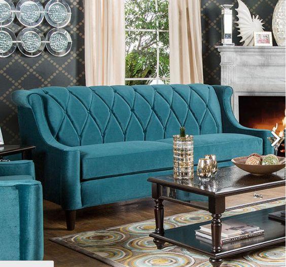 Furniture Of America Limerick Sofa SM2282