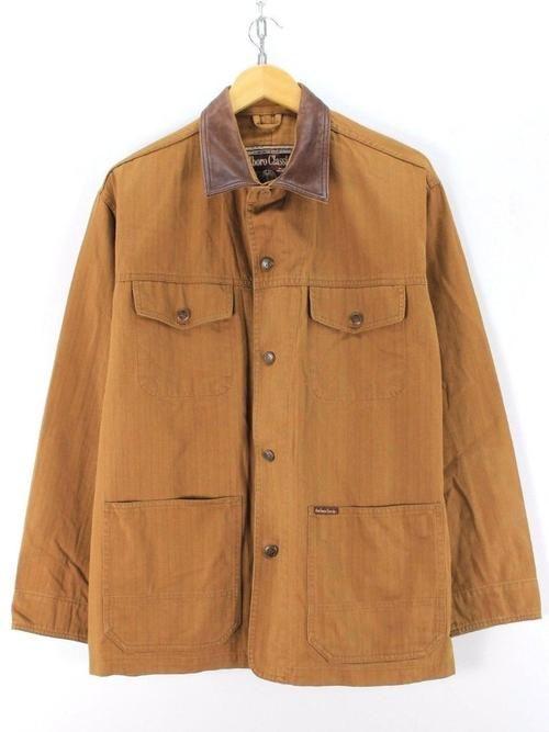 Marlboro Classics Mens Chore Jacket Size M Brown Cotton Top Quality Jacket Tops Jackets Coats Jackets