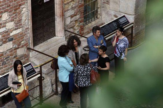 Chi dal cortile e chi dalla casa di Romeo ... differenti prospettive di visione