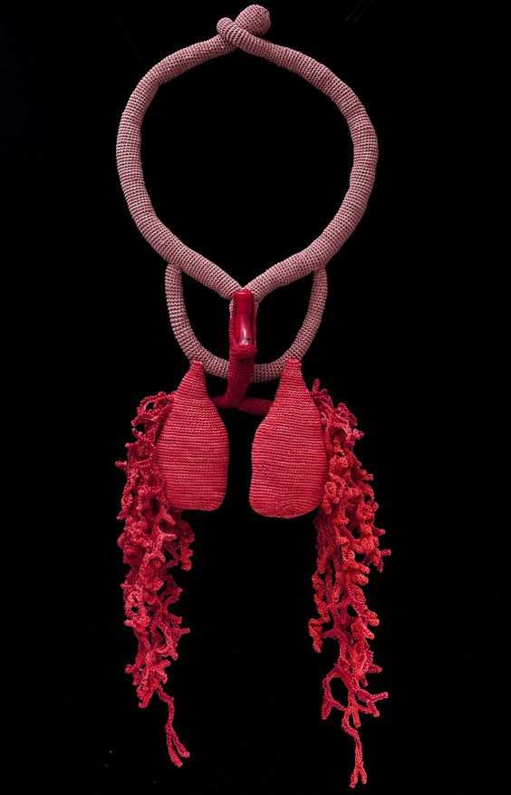 Lidia Puica - Coral Breath Necklace, 2015: