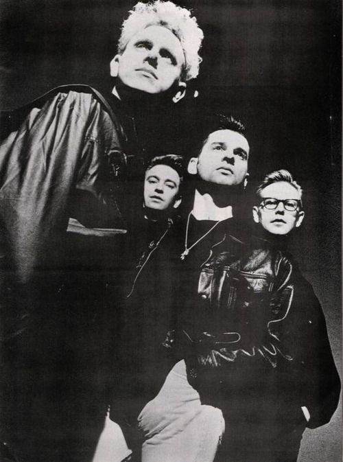 depeche mode (what is martin gore looking at?)