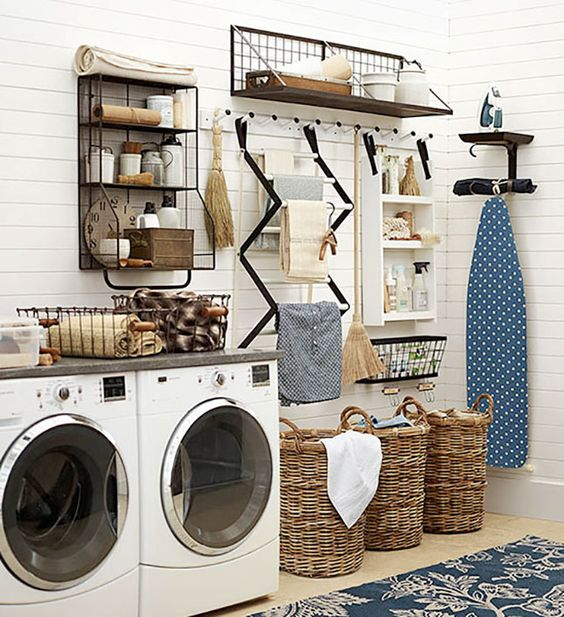 15 Organizational Hacks That'll Make You Like Doing Laundry via Brit + Co.: