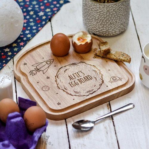 Breakfast Boards for Kids Ships Personalised Breakfast Egg Board