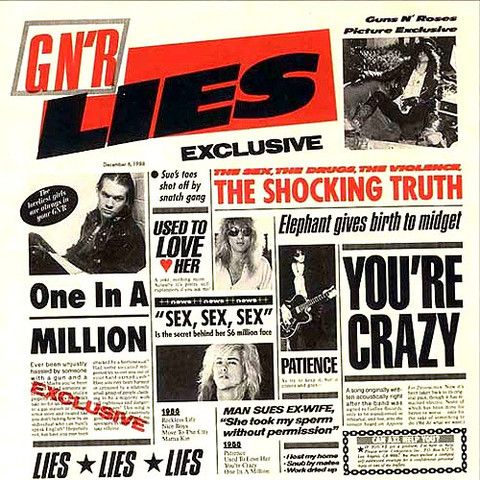 Guns N' Roses Lies – Knick Knack Records