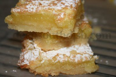 Classic Old Fashioned Lemon Squares - Sweet and tart, these are a classic.