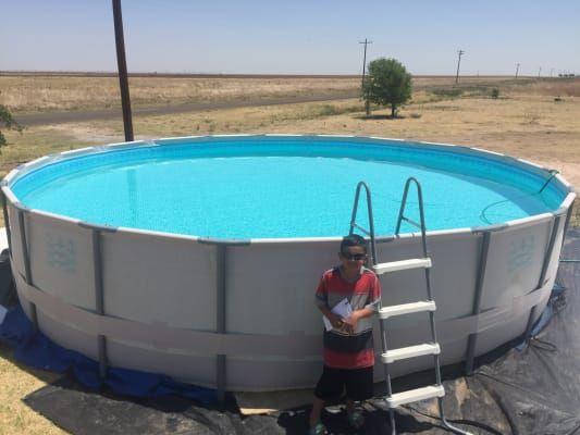 Summer Waves 20 Elite Metal Frame Pool Big Lots In 2021 Diy Swimming Pool Portable Swimming Pools Homemade Swimming Pools