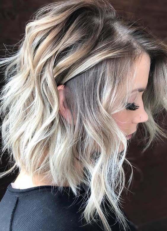 Ombre Hair Blond Les 27 Tendances Coloration Ombre Blond De La Saison Coiffure Coupe De Cheveux Coiffure Couleur
