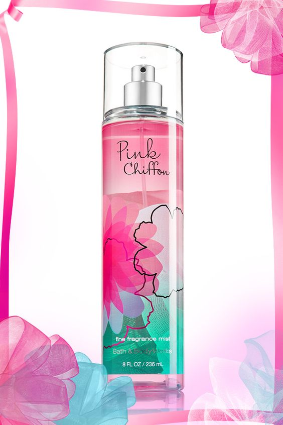 The prettiest pink fragrance in a light-as-air mist! #PinkChiffon