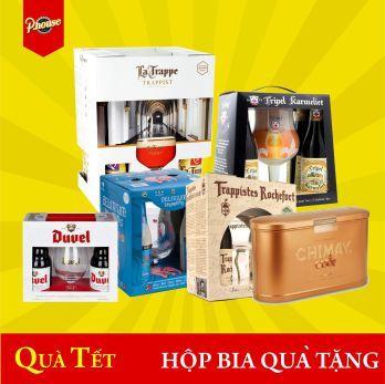 Hộp bia nhập khẩu quà tặng